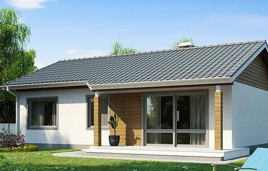 Проект маленького одноэтажного дома — нюансы строительства