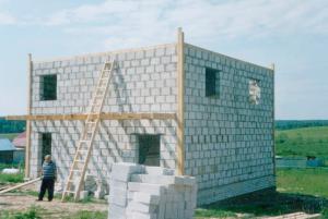 Сначала стены, потом крыша
