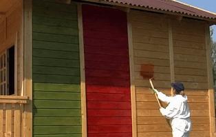 Краски по дереву для наружных поверхностей