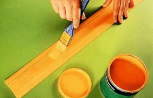 Олифу используют для разбавления масляных красок
