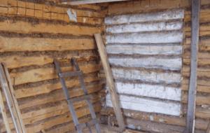 Основной изъян рубленого дома - неровные стены