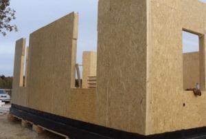 Канадская технология сборки дома из СИП-панелей