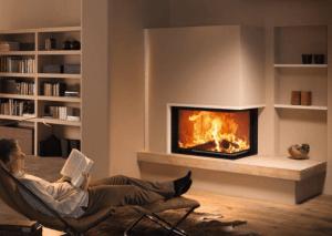 Купить угловой электрокамин с эффектом живого пламени камины электрические угловые во владивостоке