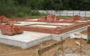 Монолитная плита для фундамента мелкого заложения