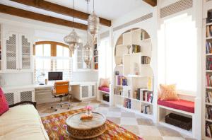 Белый цвет в марокканском стиле