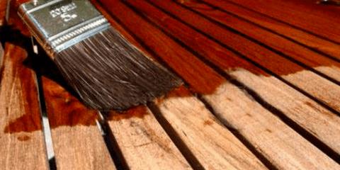 Коричневая краска для дерева