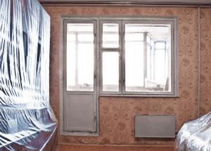 Подготовка комнаты к побелке потолка
