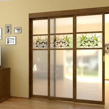 Выдвижные межкомнатные двери как объект для экономии и зонирования помещения