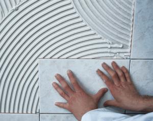 Как очистить керамическую плитку от плиточного клея