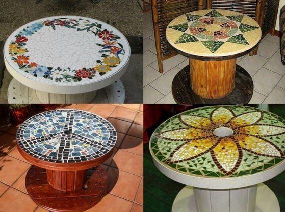 Мозаичная столешница