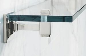 Стеклянная полочка для ванной