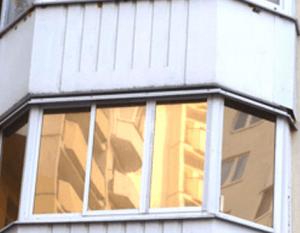 Тонировка балконных стекол