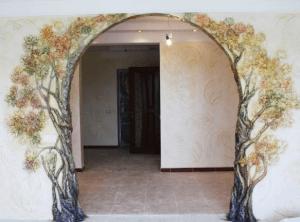 Декор арки