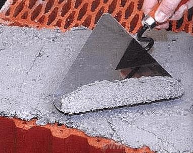 Расход раствора на кирпичную кладку разных типов, расчет по литрам или мешкам