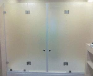 Матовое стекло в ванную
