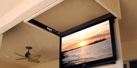 Потолочный лифт для телевизора