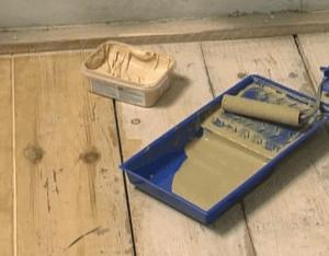 Шпаклевка деревянного пола под ламинат