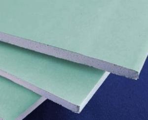 Гипсокартонный влагостойкий лист