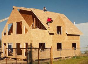 Использование ОСБ-плит в строительстве