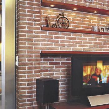 Отделка стен под кирпичную кладку в интерьере дома или офиса