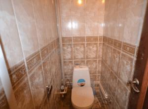 Панели ПВХ в туалете