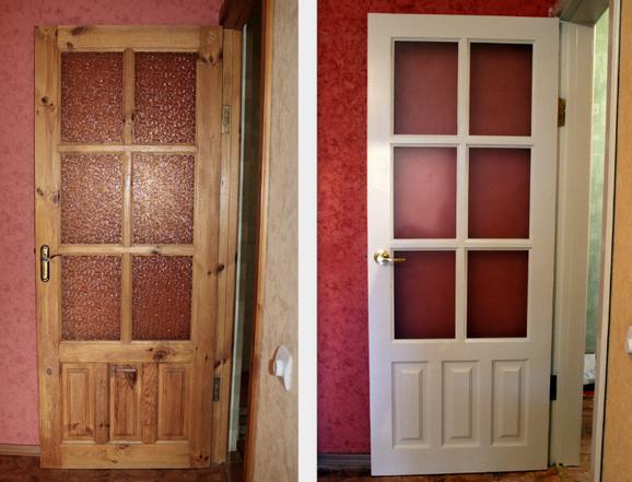 Реставрация дверей в своими руками