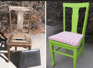 Декор стула своими руками для разных вариантов интерьера