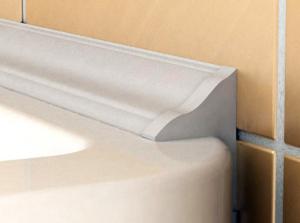 Пластиковый бордюр для ванны: как выбрать и установить