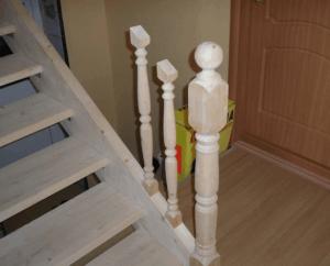 Поручни для деревянных лестниц недорого в Москве - цены