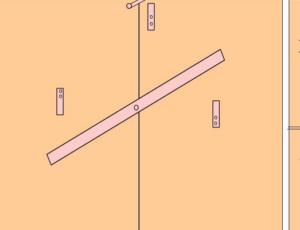 Засов-вертушка