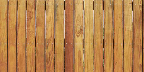 Классический деревянный забор
