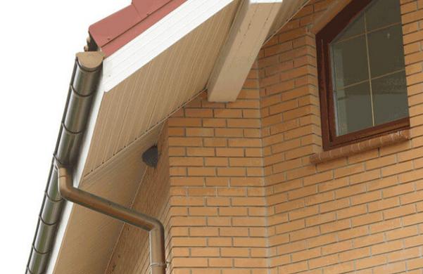 Сайдинг для подшивки крыши