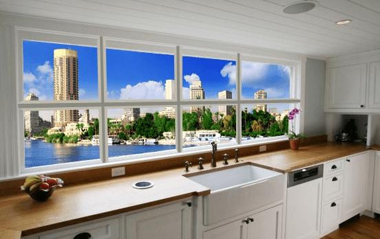 Как сделать окно с кухни