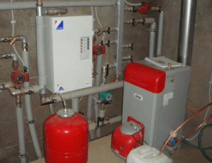 Газовый и дизельный котел в системе отопления