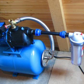 Водяная станция для дома как основной вид водоснабжения