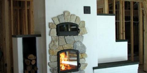 Большая печь для частного дома
