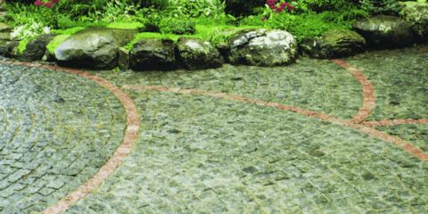 Брусчатка на загородном участке