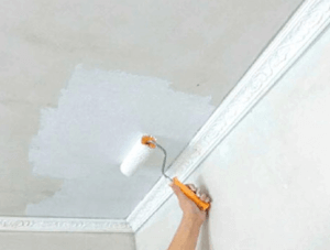 Как побелить потолок своими руками: используемые материалы