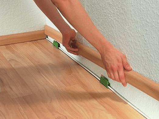 Как сделать стыки на полу 53