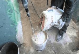 Как разводить шпатлевку