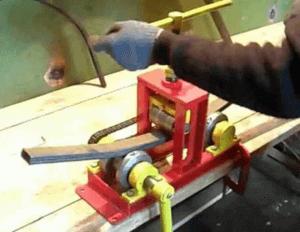 Конструкция для сгибания труб