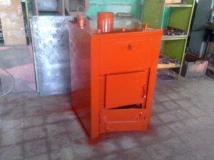 Комбинированный котел на газе и дровах