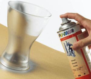 Нанесение краски на предмет