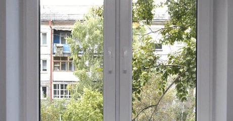 Окно из пластика