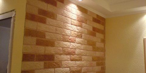 Плитка на стене