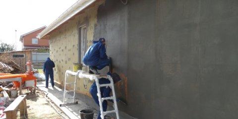 Утепление фасада под штукатурку