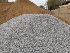 Щебень и песок для бетона