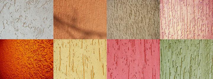 Варианты текстурного окрашивания