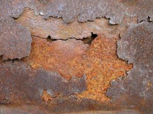 Ржавый металлический лист