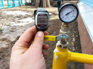 Врезка газа в коттедж